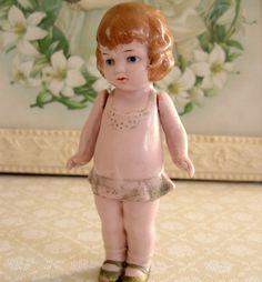 Bisque German Doll
