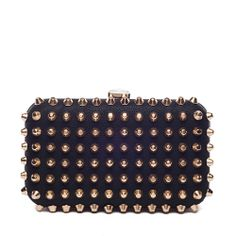 I love the Pink Cosmo Studded Clutch from LittleBlackBag stud clutch