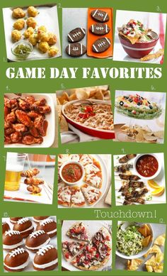 Some of THE BEST Game Day Favorites recipes from @Better Homes and Gardens // Delish Dish