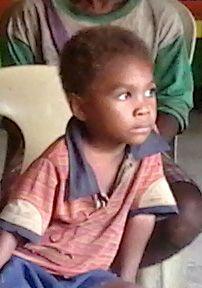 Bihug (Aeta) child