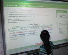 smartboard close reading