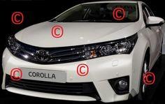 2014 Toyota Corolla leaked image