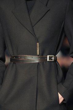Victoria Beckham Fall 2012 Wrap Belt Profile Photo