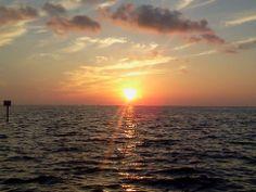 Sunset from Hudson Beach, Florida...ahhhhhh love it there!
