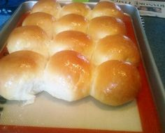 Delicious Homemade Yeast rolls!