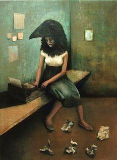 Sylvia Plath and the Worry Bird, Justin Fitzpatrick