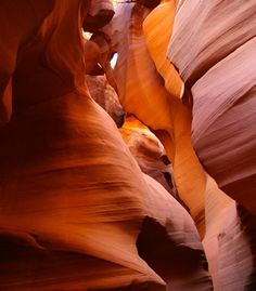 """""""Antelope Canyon, Arizona.""""  (Courtesy rlsantucijr/myBudgetTravel)"""