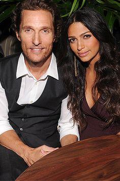 Matthew and Camila McConaughey welcome new baby boy Livingston Alves McConaughey on 12.28.12