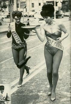 "Champagne relay- ""Modern Man"" magazine, 1964"