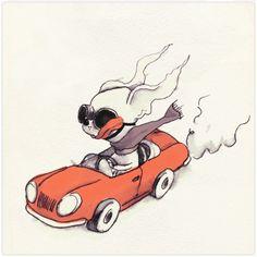 Chihuahua Illustration by Alfonso Muro