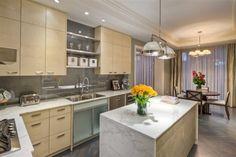 A great luxury condo's kitchen!