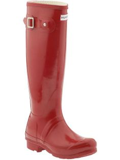 red rain boots!