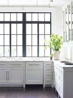 windows // kitchen