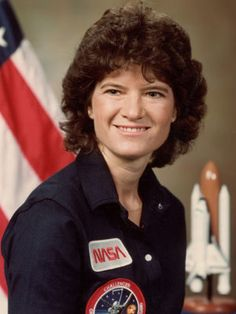 Sally Ride...the first woman in space! RIP!