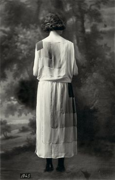 "Vionnet, ""dépôt de modèle"" photography, summer collection, 1922, Les Arts Décoratifs collection, U.F.A.C"