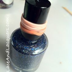 Lace & Lacquers: How to removed a stuck nail polish cap!