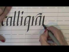 GItalic Calligraphy Online Class