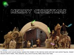 Star Wars Nativity | 13 Unusual Christmas Traditions To Steal For Yourself