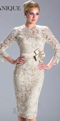 short evening dress - elegant