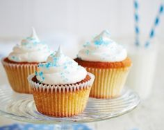 Meringue frosted cupcakes recipe cupcakes, cupcake recipes, meringu frost, food, cupcak recip, james martin united cakes, frost cupcak, jame martin, dessert