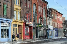 Fun, funky and affordable - Queen Street West in Toronto!