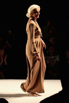 Carmen Dell'Orefice - Norisol Ferrari - Front Row - Spring 2013 Mercedes-Benz Fashion Week