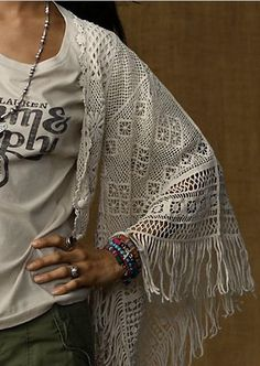 ralph lauren crochet cardigan