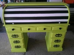 Upcycled dresser from estate sale Love it!