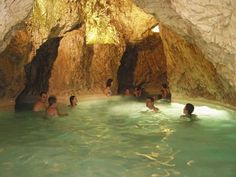 Miskolctapolca, Turkey - thermal baths in caves    You may refresh you self in an exotic bath, if you visit the famous spa of Miskolctapolca. The unusual thermal cave bath is unique all around Europe. Besides the natural cave bath there are indoor and outdoor pools, an aqua park, thermal pools and a small pool for the children. The spa is situated in a large park with a lake.