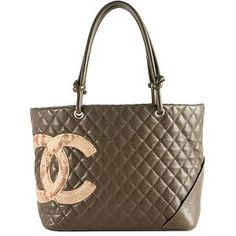 Great prices on used authentic luxury bags... Chanel Ligne Cambon Large Shopping Tote