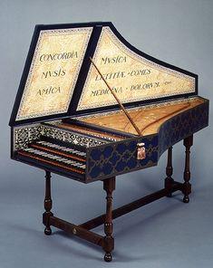 Flemish harpsichord