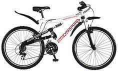 Bicicleta Benotto con cuadro en acero y doble suspensión. ¡Aprovecha