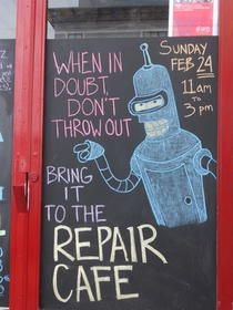 Shareable: How to Start a Repair Café - There's a library program in here ... I know it!