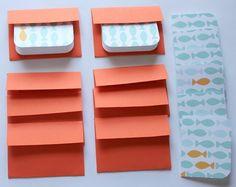 Cute Goldfish Mini Cards $3