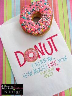 Valentine's Day Gifts for Teachers - Donut Teacher Valentines Gift | UtahCouponDeals