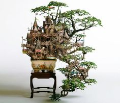 bonsai castle