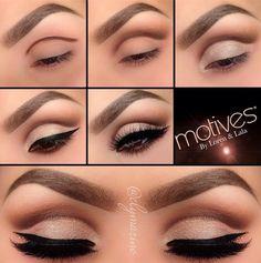 Stunning Cut Crease Eye Makeup