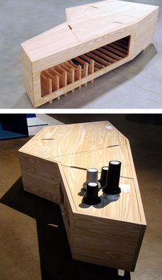 Coffee Table Coffin -- In case you need to bury someone during your morning cuppa joe