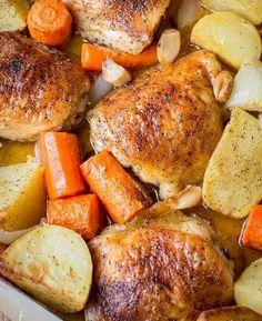 One Pot Chicken & Po