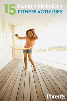 Don't let your little ones zone out in front of the TV. Keep them active all summer with these fun ideas! #FitFam14