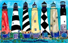 Lighthouses of NC