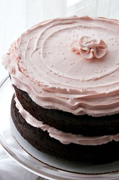 Pretty in Pink Tomboy Cake