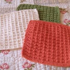 Nana knows best! Check out Nana's Favorite Dishcloth Pattern!