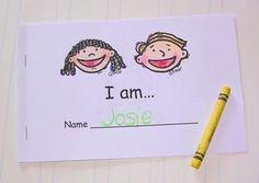 Book: I am..  Sight Words: I, am, like