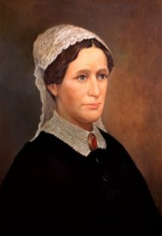 Eliza Johnson, American First Lady married to President Andrew Johnson.  Mrs. Johnson was not a social butterfly like her predecessor Mary Todd Lincoln.  She delegated the social duties of the White House to her daughter Martha Johnson Patterson. She was instrumental in educating her husband in reading, history, math, and writing since President Johnson did not receive a formal education growing up