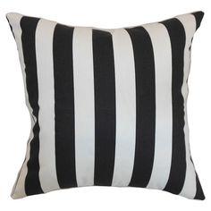 black and white stripe pillows canopi pillow, decor pillow