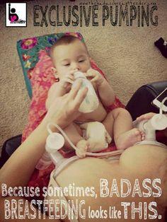 Baby still getting 100% Breastmilk