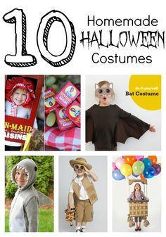 Cute Homemade Halloween Costumes