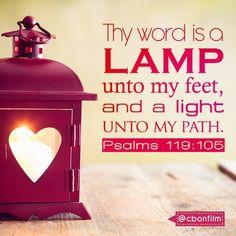 Psalms 119:105 #light #scripture #lamp