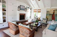 Fresh Traditional - traditional - Living Room - Orange County - E² Interior Design